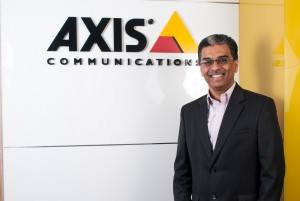 Sudhindra Holla, Country Manager – Axis Communicat