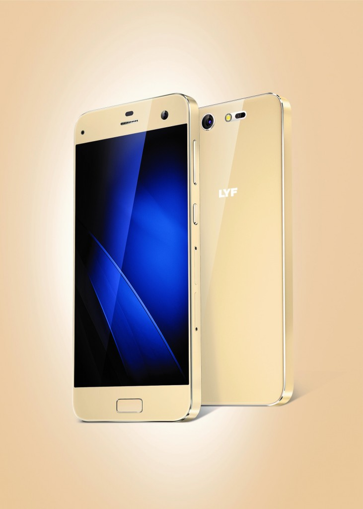 LYF Earth 2 Smartphone+ Gold