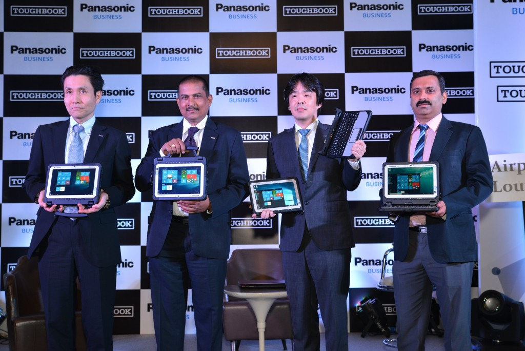 Mr. Nakanishi, Mr. Rizhkant Zha, Mr. Kensei, Mr. Gunjan Sachdev (L-R)