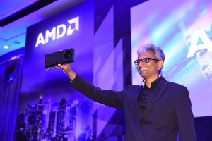 Raja Koduri, SVP of Radeon Technologies Group Shows Off The World's Firs...