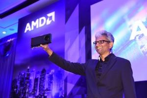 Raja Koduri, SVP of Radeon Technologies Group Shows Off The World's Firs...