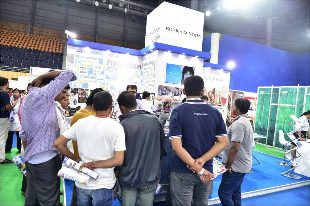 Konica Minolta Stall_Photo Today Expo 2016