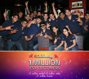 1 MILLION CUSTOMER - ESY PIC