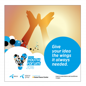 Telenor-Youth-Forum-Poster