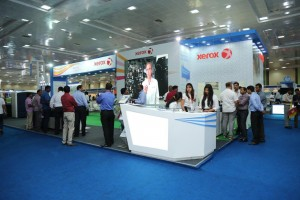 Xerox stall at PrintExpo 2016