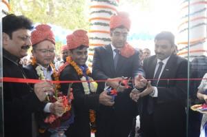 Mr. Manish Sharma, CEO & President, Panasonic India and South Asia, inaugurating the first Panasonic 4K Pro Center