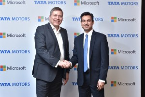 Event Image-Microsoft and Tata Motors collaboration