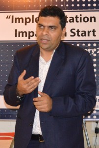 Mr. Mohit Bhambani , CEO , KDK Softwares (I) Pvt Ltd during Workshop (1)