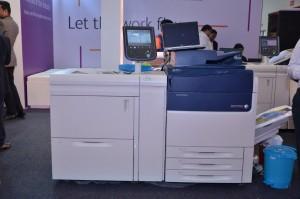 Xerox Color C70 Printer at Printpack 2017