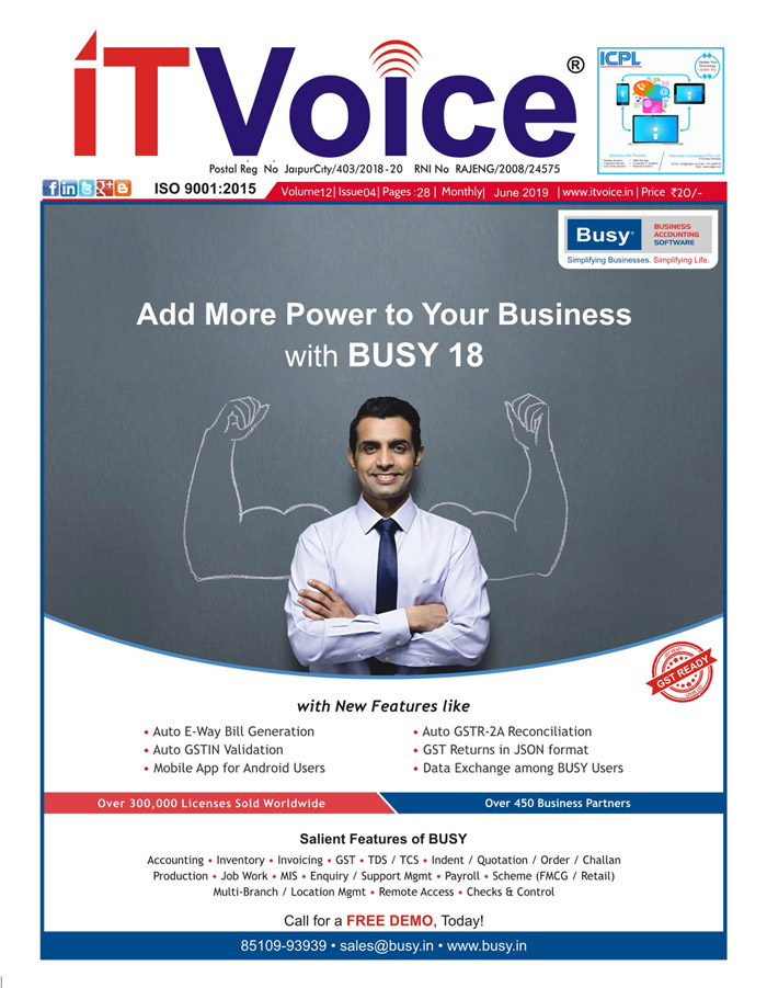 IT Voice June 2019 Edition